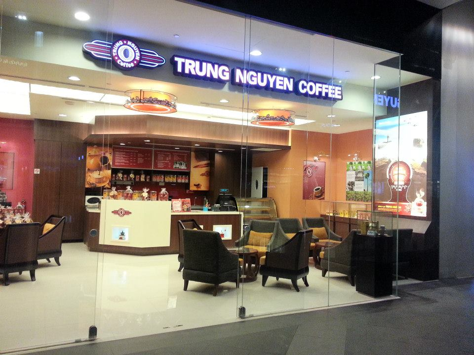 Trung Nguyen coffee – Bayfront Avenue
