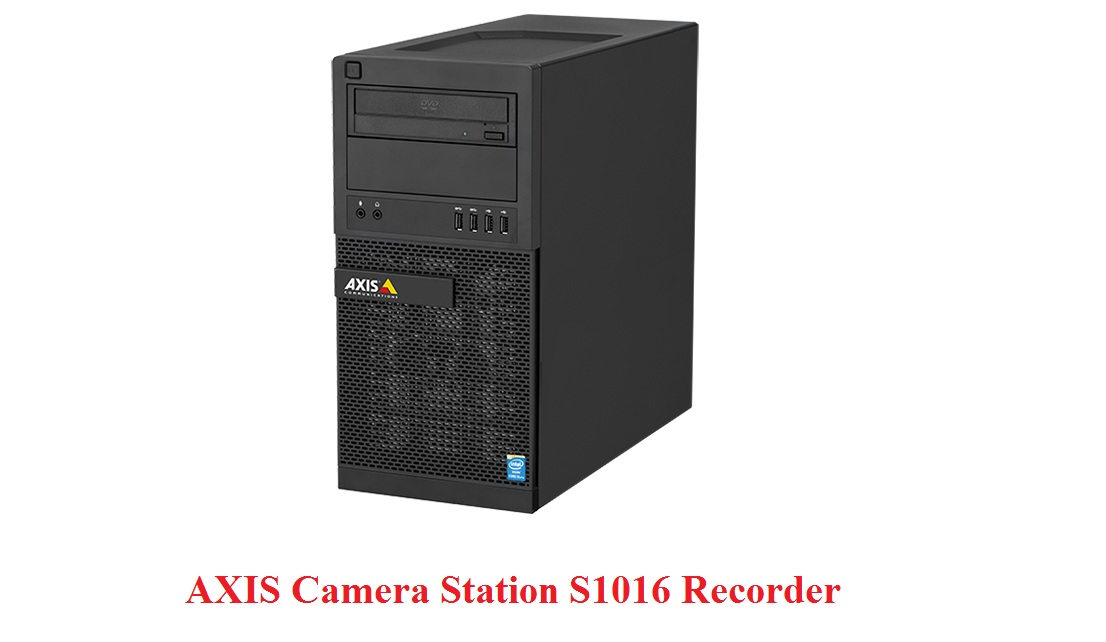 AXIS Station S1016 Recorder