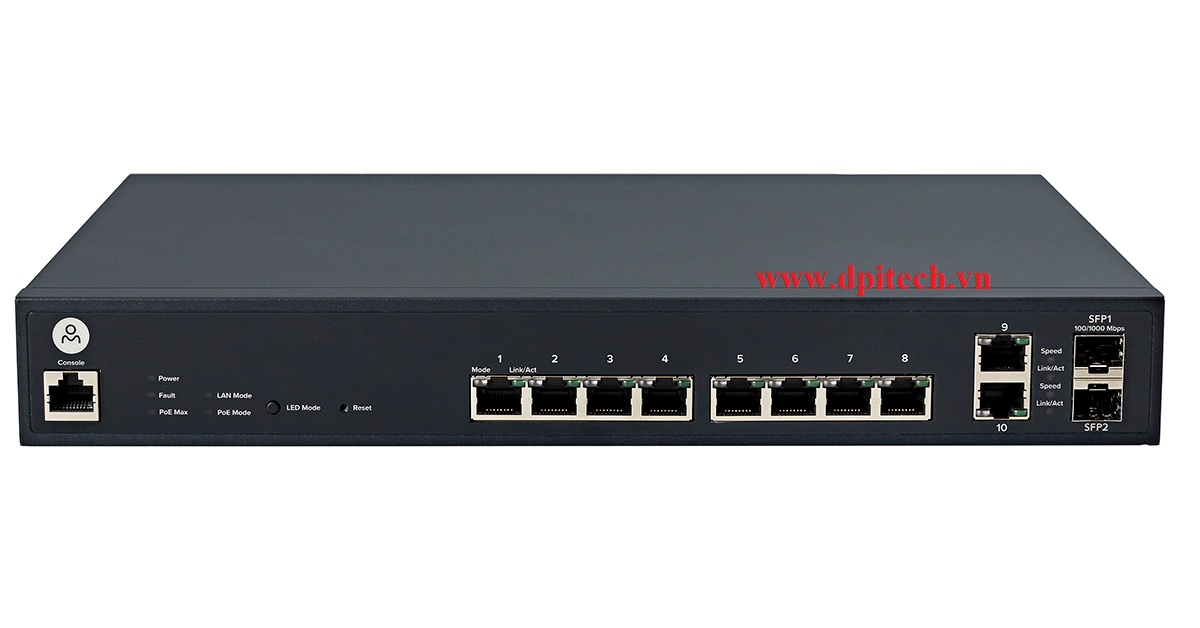 Open-Mesh S8 Switch PoE Cloud-Managed (8 Port)